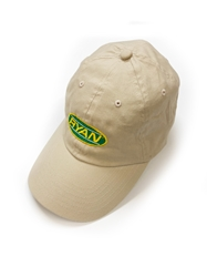 Ryan Khaki Cotton Twill Hat