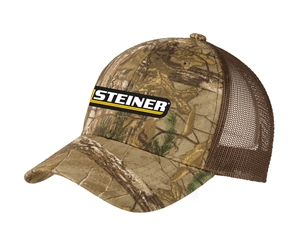 Steiner Camo with Mesh Trucker Ball Cap